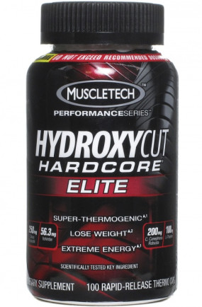 Hydroxycut Hardcore Elite Термогеники, Hydroxycut Hardcore Elite - Hydroxycut Hardcore Elite Термогеники