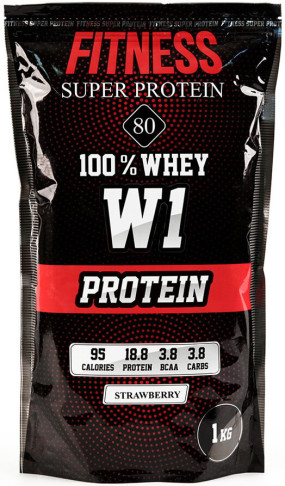 FITNESS SUPER PROTEIN 80 Сывороточные протеины, FITNESS SUPER PROTEIN 80 - FITNESS SUPER PROTEIN 80 Сывороточные протеины